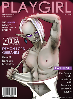 PLAYGIRL- Demon Lord Ghirahim by *tavington