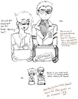 TFCC: Elevator Chat by KPenDragon