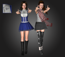 Alice modern collection, wip 1 by tombraider4ever
