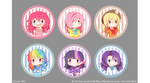 MLP: Chibi Button Badges! by Fenrixion