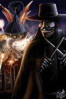 Remember Remember the 5th of November by NestorTomaselliArt