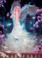 Angel of Friendship - For Evelinda by lauraypablo