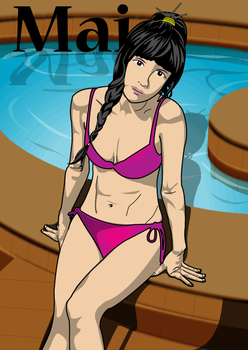 Mai...in da pool by stannesi