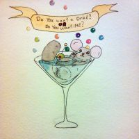 Martini Mouse/Chinchilla by Squall1015