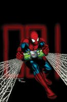 Spideman Cover 548 by Ta2dsoul