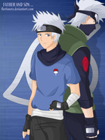 My legacy - Kakashi and Taichi by Hatake-Flor