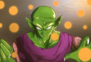 DragonBall Z Piccolo by Mr123GOKU123