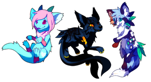 Commission Batch 1 by Pand-ASS
