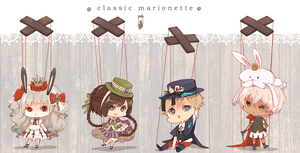Classic Marionette Auction : {CLOSED} by WanyaaGoAdopts