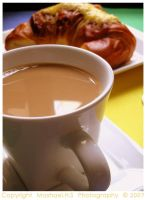Cafe au Lait Croissants by MeSHa3eL