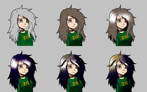 how i color hair by G4MM43T4