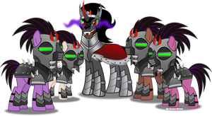 King Sombra's Army by Vector-Brony
