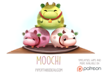 Daily Paint 1528. Moochi by Cryptid-Creations