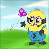The minion by Mishti14
