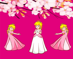 princess peach praise by ariarts258