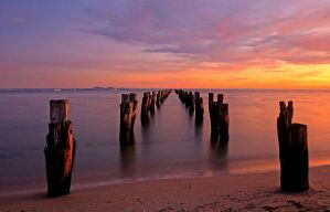 Clifton Springs Sunrise 4 by DanielleMiner
