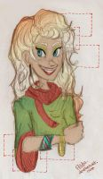 Square Blond by Ailda