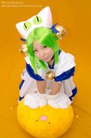 The princess of planet Di Gi Charat by Hitomi-Cosplay