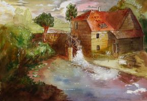 The mill by Larbesta