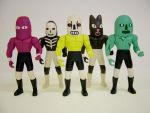 Wrestling Action Figures 2 by Teagle