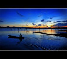 going at sunrise by ferrysetiawan