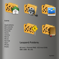 Leopard Folders by seifito