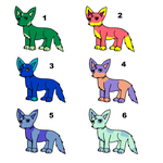 FREE  FoxDog Point Adopts 1-6 by Spychedelic