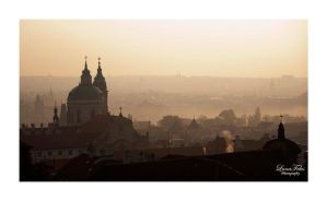 Prague in the morning by LunaFeles