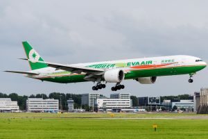 EVA Air Boeing 777-35E/ER by SliverFoxNL
