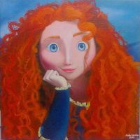 Another Merida painting - 2013 by andrecamilo20