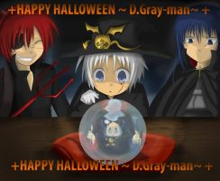 +D.Gray-man Halloween+ by Evil-usagi