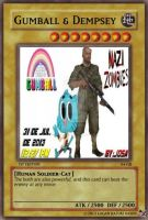 Gumball And Dempsey Card by Weapons-Expert-Cool