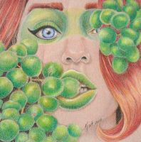 Grapes by KatLEwing