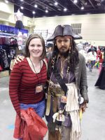 Captain Jack Sparrow by dinohunter9