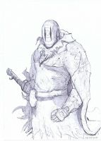 Grotesque the stranger, pencilled by Brollonks