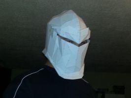 Grey Warden Helmet test fit by Mimo512