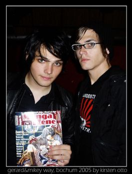 gerard and mikey way by perfectskylines