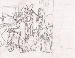 Halloween Sketch - Unfinished by NekoMellow