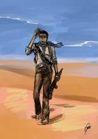 silly uncharted3 scribble by Petitecreme