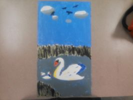 Painting - Swan Lake by Sparrow26657