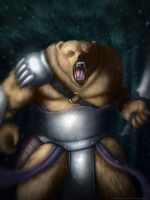 Warrior Bear by JONATHAN787