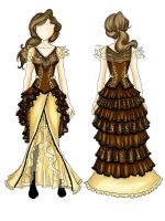 Design Steampunk Leopard Costume by BlueMarinesFactory