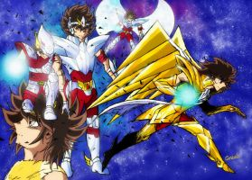 The Legend of Seiya by SSAlpha