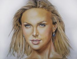 .: Charlize Theron :. by Maggy-P