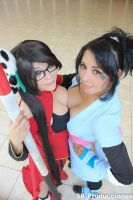 Litchi and Sheena by Nao-Dignity