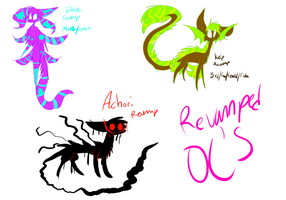 Revamped OC's by leafeoneve3