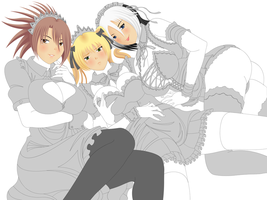 Maids *WIP* by EVOV1