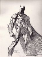 Batman (after Jim Lee) 10-23-2012 by myconius