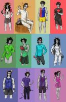 Homestuck - Trolympics by TheLanguidClown