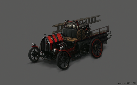 Firefighter Car Concept by LimonTea
